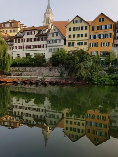 Neckarfront Spiegelung